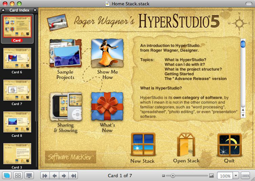Installation of HyperStudio 5