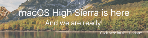 The new macOS High Sierra 10.13