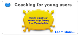 Gentle help and coaching for young users