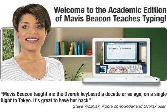 Welcome to Software MacKiev's Mavis Beacon Teaches Typing!