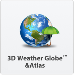 3D Weather Globe & Atlas