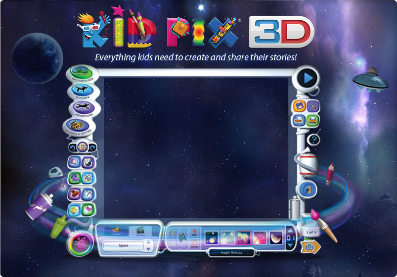 software mackiev kid pix 3d - Kids Paint Download