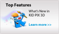 KID PIX Top Features